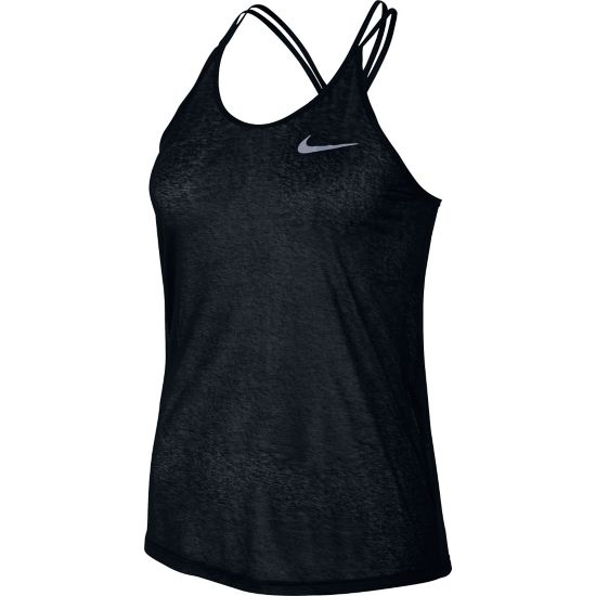 DF Cool Breeze Singlet Dame BLACK/REFLECTIV