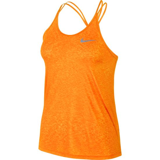 DF Cool Breeze Singlet Dame VIVID ORANGE/RE