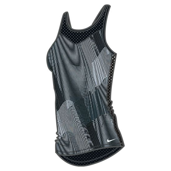 Pro Hypercool Frequency Tank Dame BLACK/DARK GREY