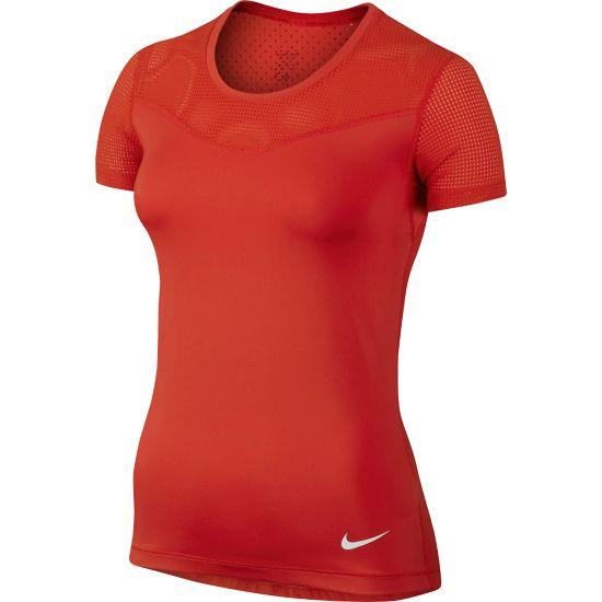 Pro Hypercool T-skjorte Dame 696-LT CRIMSON/