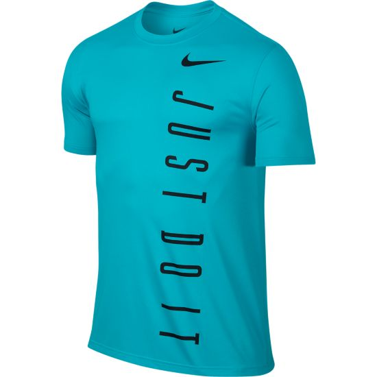 Legend 2.0 Vertical T-skjorte Herre OMEGA BLUE/BLAC