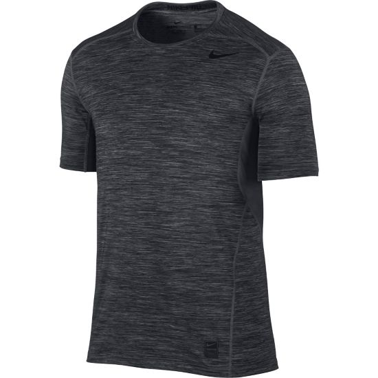 Pro Hypercool Fitted Crew T-skjorte Herre BLACK/ANTHRACIT