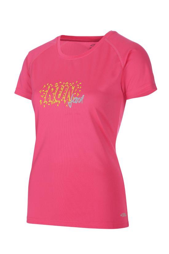 Rebenna II Trenings T-Skjorte Dame PINK
