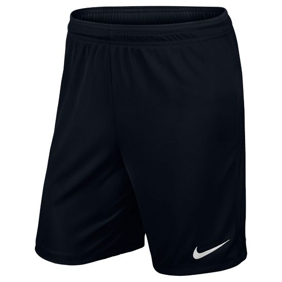Park Knit Fotballshorts Junior BLACK/WHITE