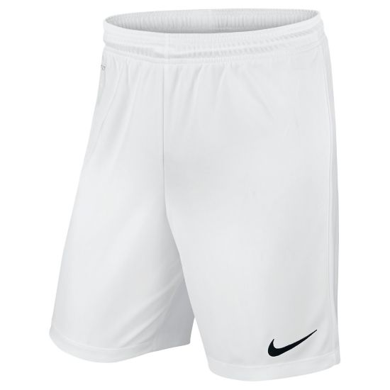 Park Knit Fotballshorts Junior WHITE/BLACK