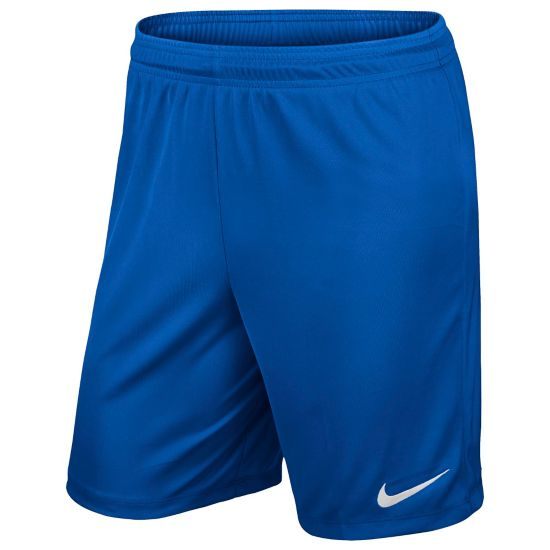 Park Knit Fotballshorts Junior ROYAL BLUE/WHIT