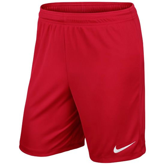 Park Knit Fotballshorts Junior UNIVERSITY RED/