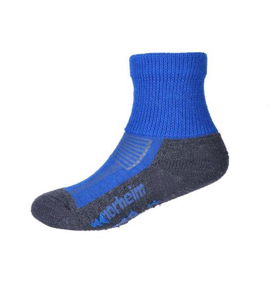 Granitt Medium Ullsokk Antiskli Barn DIRECTOIRE BLUE