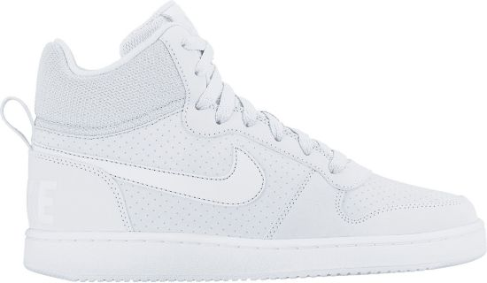 Court Borough Mid Fritidssko Dame WHITE/WHITE-WHI
