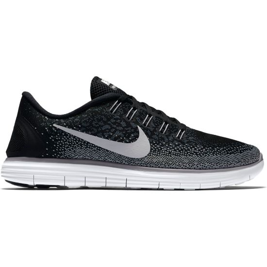 Free Run Distance Løpesko Dame BLACK/WHITE-DAR