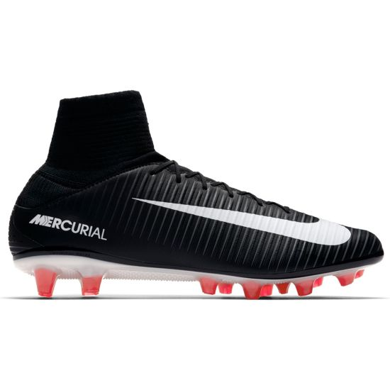 Mercurial Veloce III DF AG-Pro Fotballsko Kunstgress  002-BLACK/WHITE