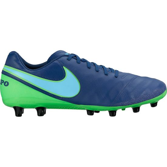 Tiempo Genio II Leather AG-Pro Fotballsko Kunstgress  COASTAL BLUE/PL