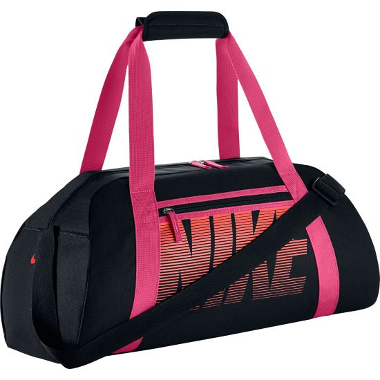 Gym Club Duffel Bag Dame BLACK/VVDPNK/(B