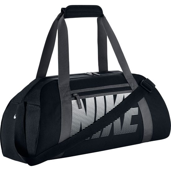 Gym Club Duffel Bag Dame BLACK/DARK GREY