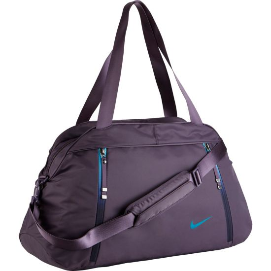 Auralux Solid Club Treningsbag 539-DARK RAISIN