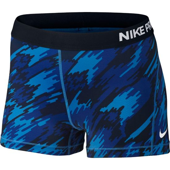 Pro Cool Shorts Dame LT PHOTO BLUE/W
