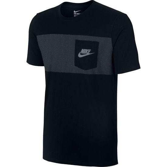 Cortez T-skjorte Herre BLACK/BLACK/COO