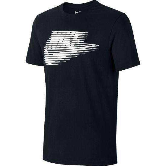 Lenticular Futura T-skjorte Herre BLACK/BLACK/WHI