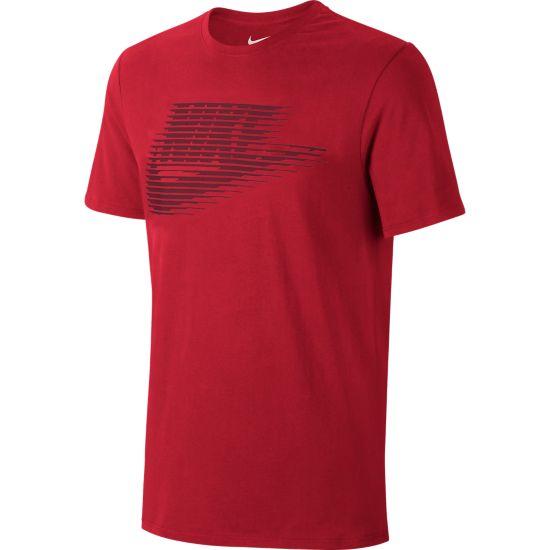 Lenticular Futura T-skjorte Herre UNIVERSITY RED/