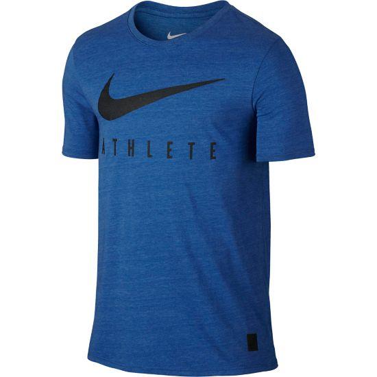Mesh Swoosh Athlete T-skjorte Herre LT GAME RYL HTR