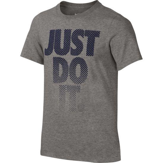 Fade T-skjorte Junior DK GREY HEATHER