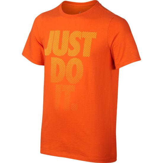 Fade T-skjorte Junior SAFETY ORANGE