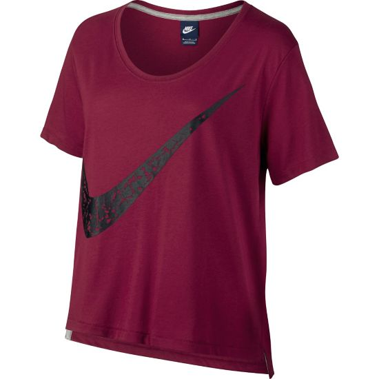 Sportswear Topp Dame NOBLE RED/BLACK