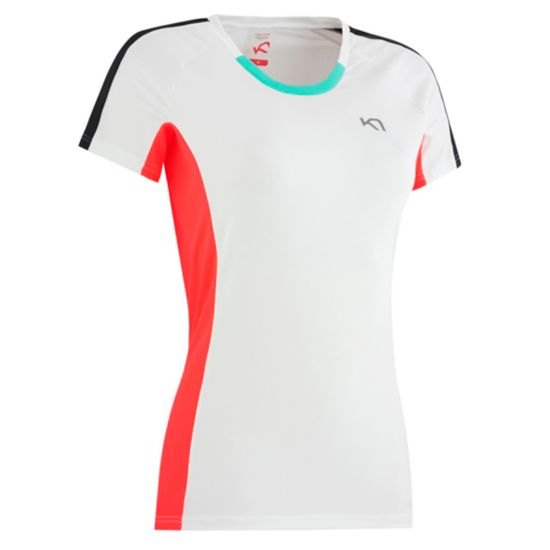 Kristin Trenings T-skjorte Dame BWHITE