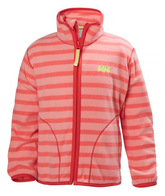 Shelter Fleecejakke Barn SHELL PINK STRI