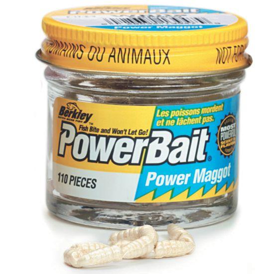 Powerbait Maggots White