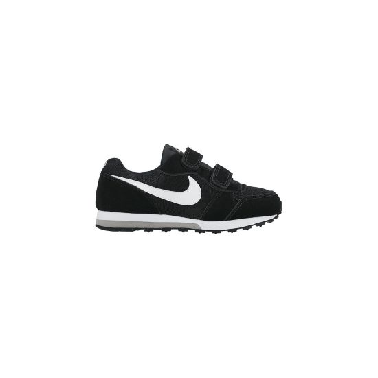 MD Runner 2 Fritidssko Barn BLACK/WHITE-WOL