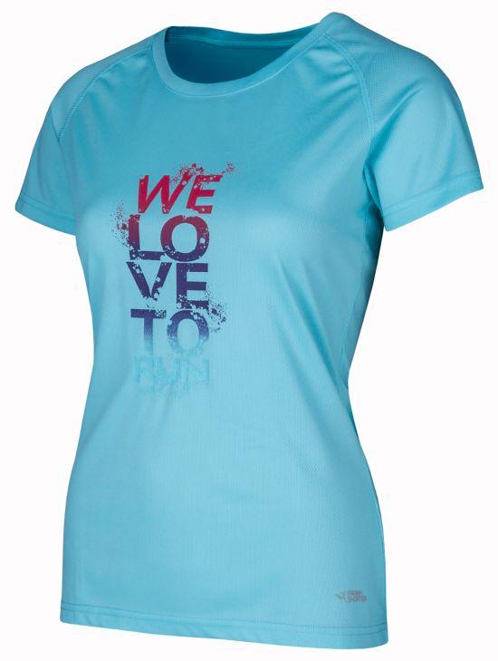 Rebenna III T-skjorte Dame TURQUOISE