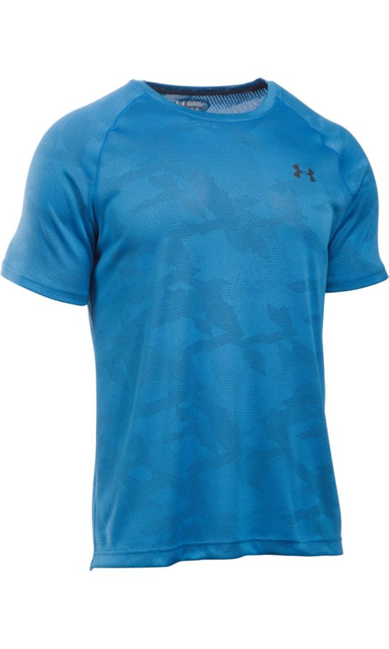 Jacquard Tech T-skjorte Herre