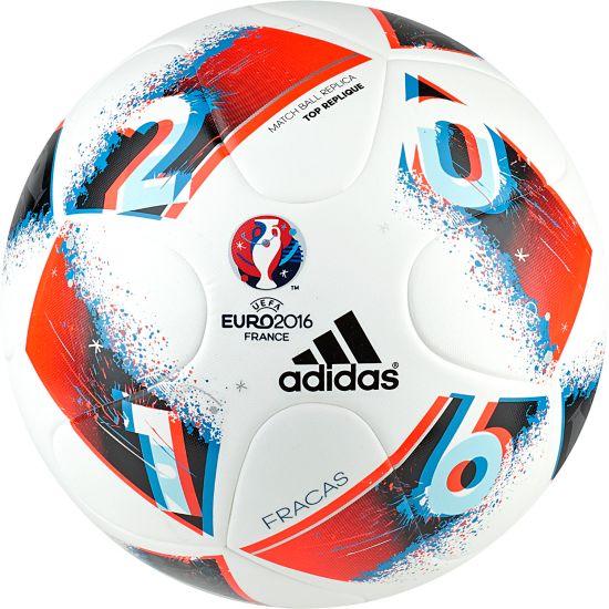 Euro16 Fracas Replica Fotball WHITE/BRBLUE/SO