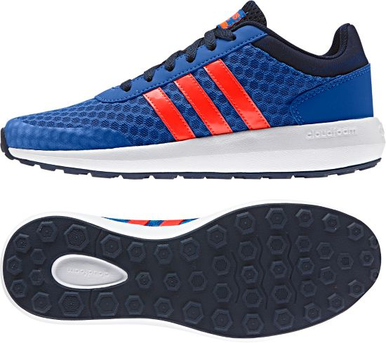 Cloudfoam Race K BLUE/SOLRED/CON
