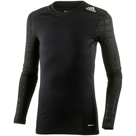Techfit Warm Trøye BLACK/MSILVE