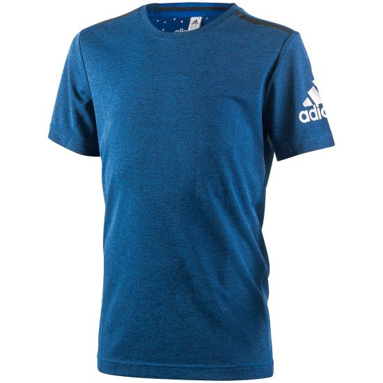 YB CCHILL TEE BLUE/MSILVE