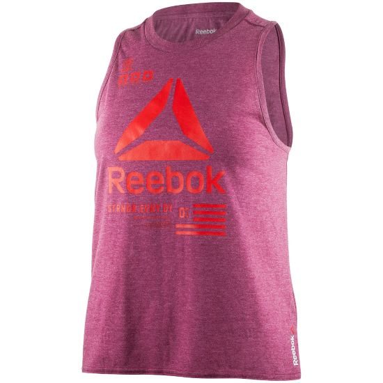 One Series Muscle Tank Top Dame REBBER