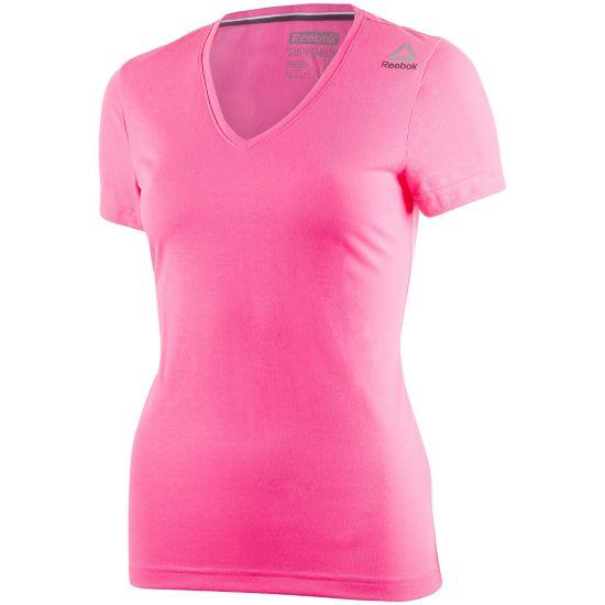 Workout Supreme T-skjorte Dame POIPNK