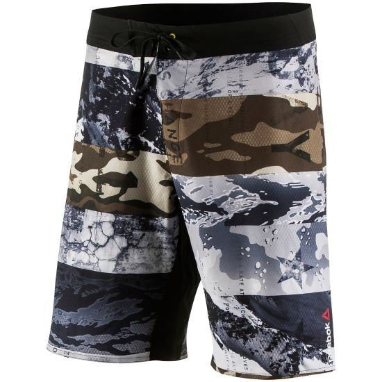One Series Winter Camo Shorts Herre COAL