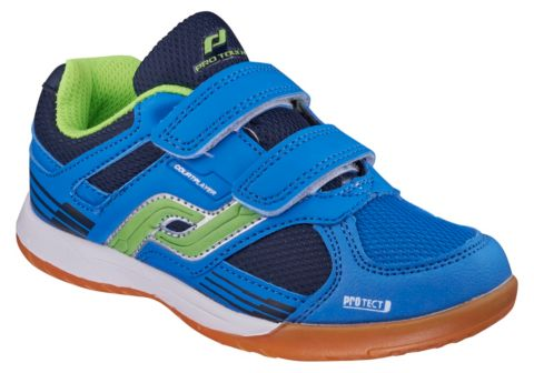 Courtplayer hallsko junior BLUE/GREEN/NAVY