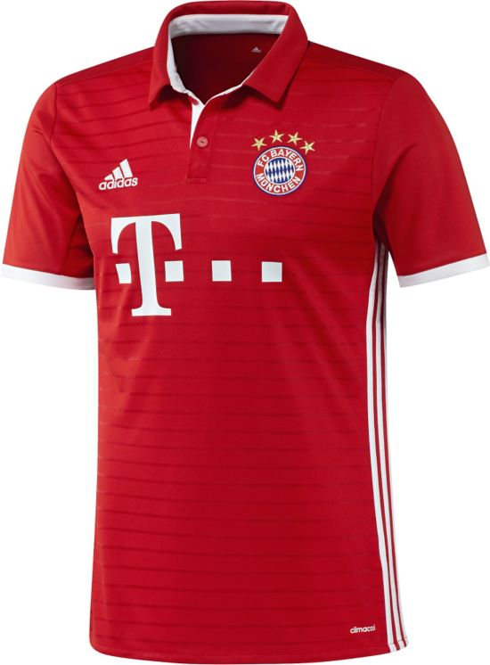 Bayern München Hjemmedrakt 16/17 Jr. FCBTRU/WHITE