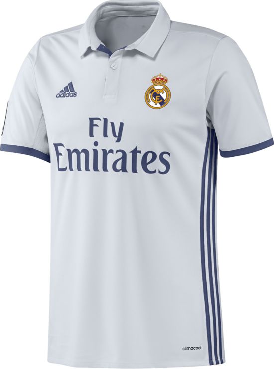 Real Madrid Hjemmedrakt 16/17 Jr. CRYWHT/RAWPUR