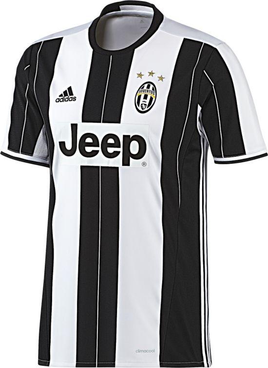 Juventus Hjemmedrakt 16/17 Jr. WHITE/BLACK