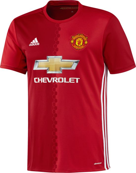 Manchester United Hjemmedrakt 16/17 Jr. REARED/POWRED/W
