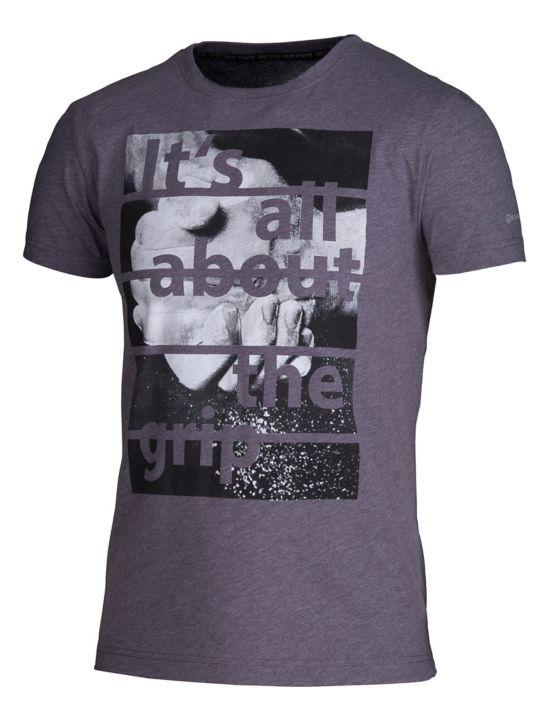 Tarik IV T-Shirt Herre GREY