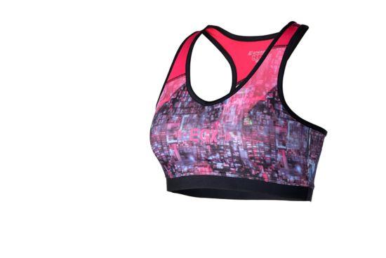 Zofia III Sports-BH Dame RED/MULTI/BLACK