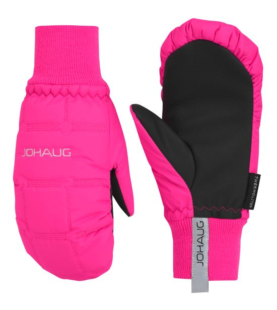 NOW Warm Padded Mitten  JR PINK