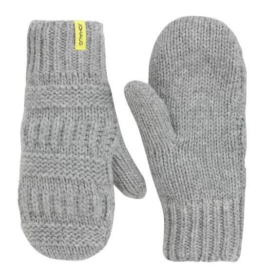 NOW Warm Knitted Mitten GREYM