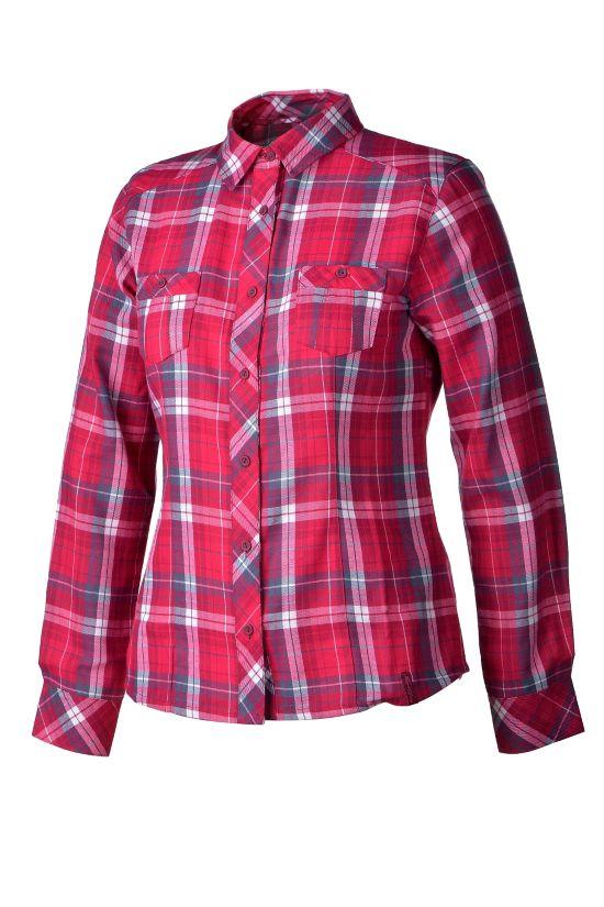 Walla Skjorte Dame MULTI/PINK DARK